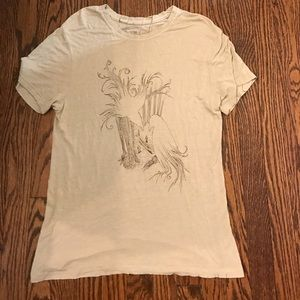 Arbor Bamboo Shirt With Birds Super Soft